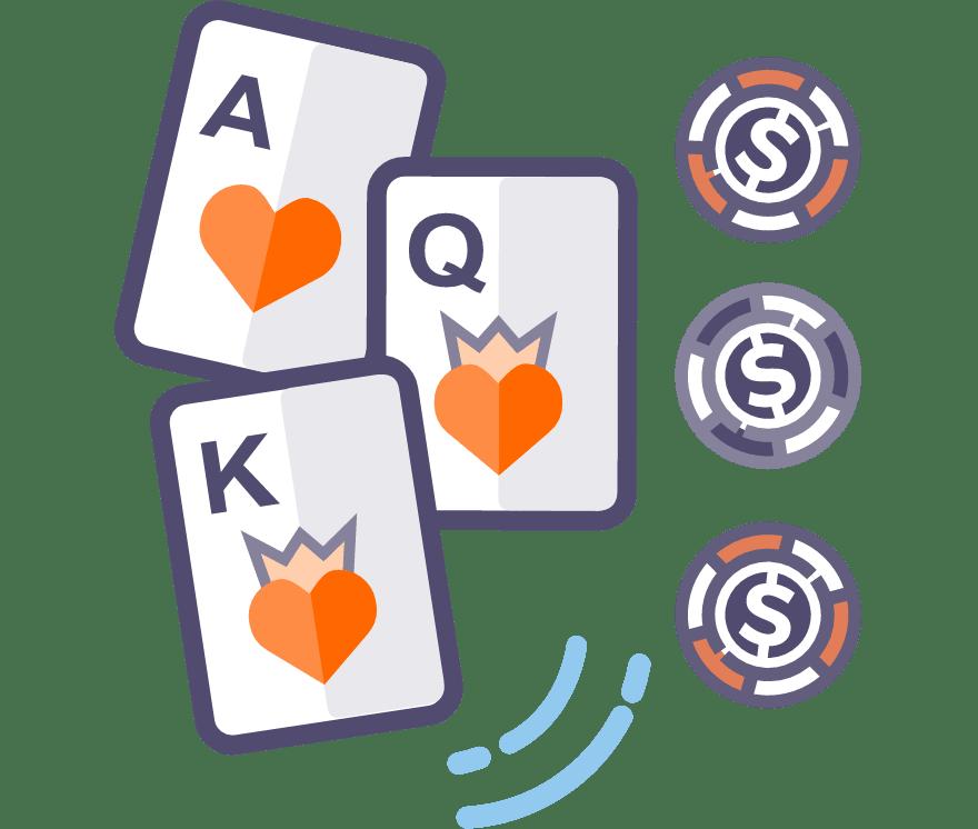 Los 63 mejores sitios de Casino de Póker de tres cartas en línea en Paraguay